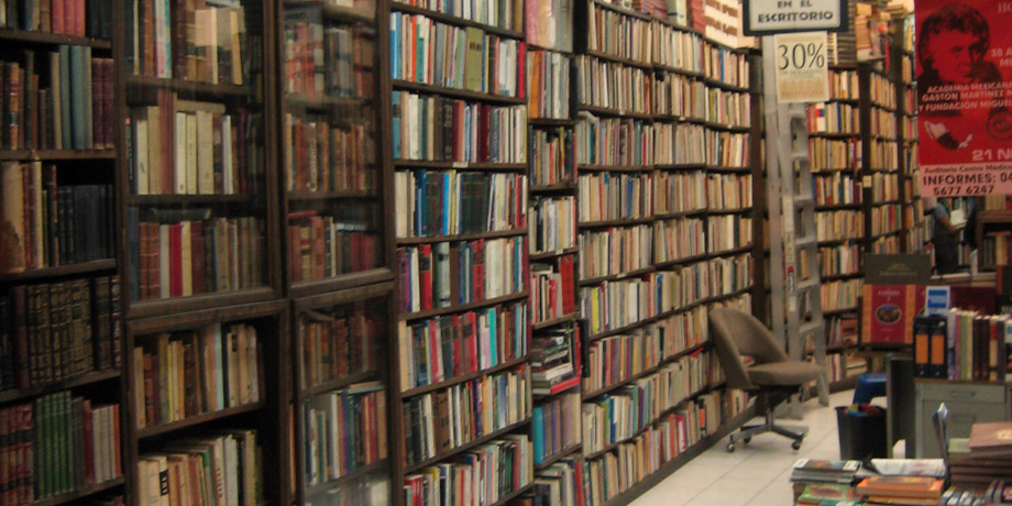 Books! Image CC-licensed by A30_Tsitika on Flickr