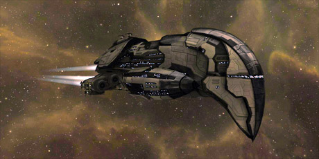The Amarr Omen Navy Issue