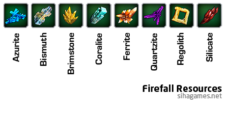 Firefall resources