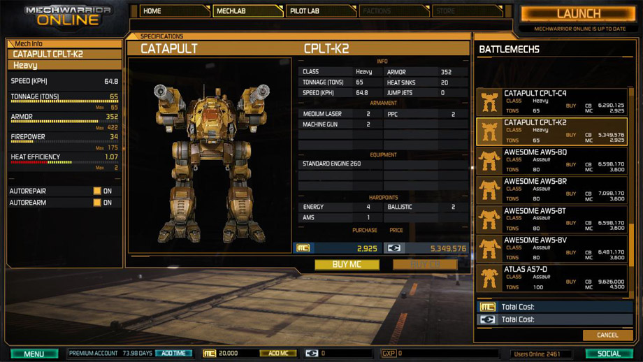 Mechwarrior Online: the good, the bad and the ugly - Siha Games!