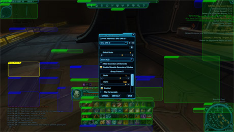 Customising the SWTOR UI
