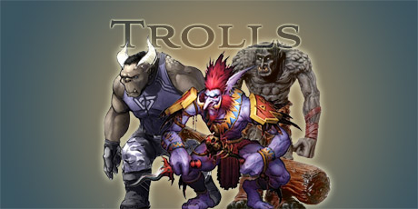 Trolls: Shadowrun, WoW and D&D Style