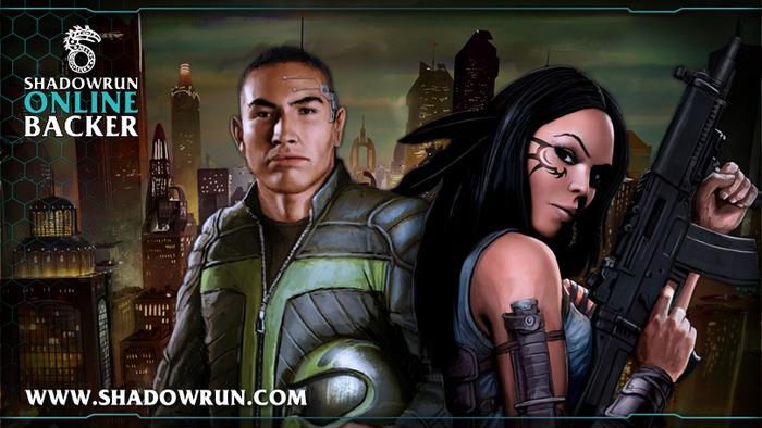 Shadowrun Online backer banner